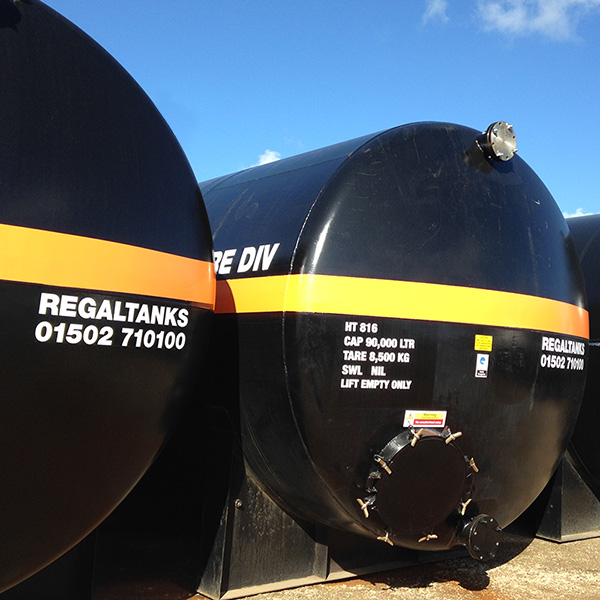 Industrial storage tank hire