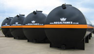 Storage Tank Hire from Regal Tanks