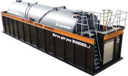 Hire the best bunded storage tanks
