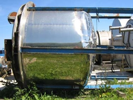 Stainless Steel Reactor Used Tank