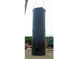 Mild Steel Single Skin Used Tank