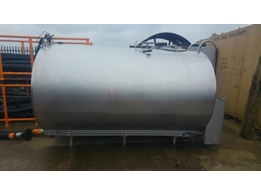 Stainless Steel Single Skin Used Tank