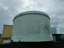 Fibreglass Open Top Used Tank